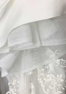 Wedding Dress bustle